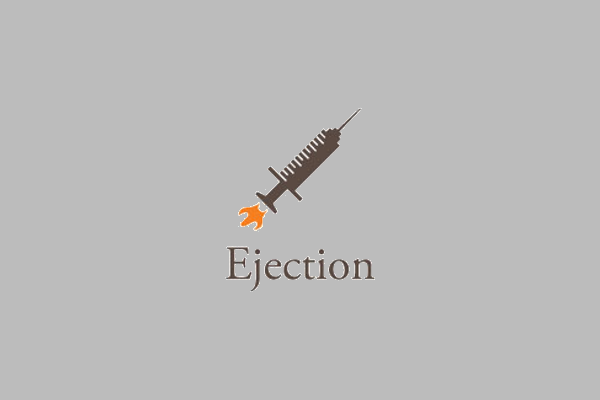 Rocket Ejection Logo Design