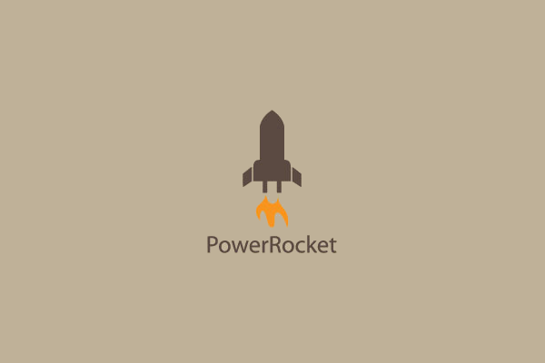 Power Rocket Logo Design