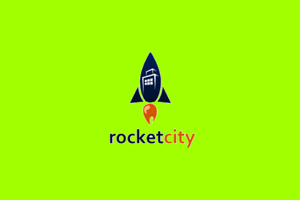 Rocket Logo Design for Real Estate