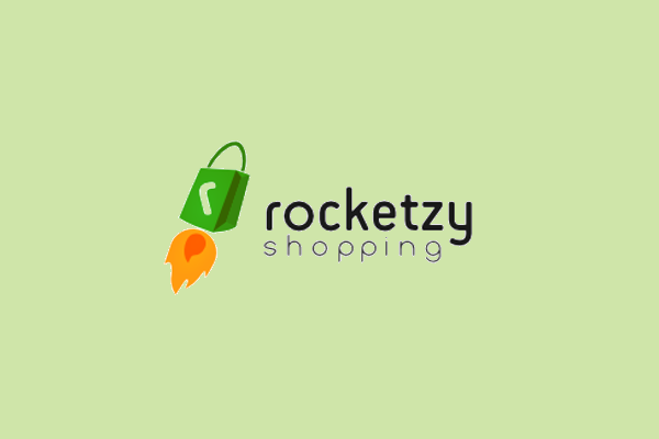 Rocket Logo Design for E-commerce Site