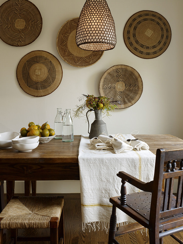 Rustic Dining Room Wall Decor Beautiful Photos