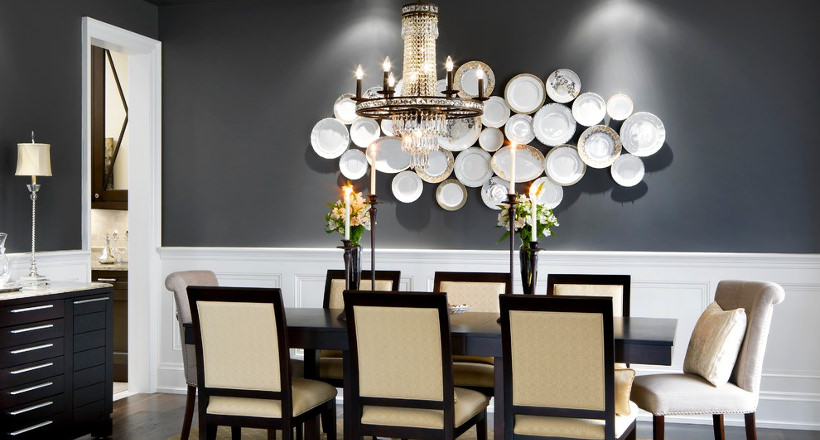 Perfect Wall Decor Designs For Dining Room