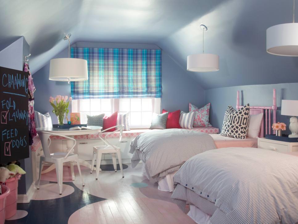 Kid's Bedroom Attic design