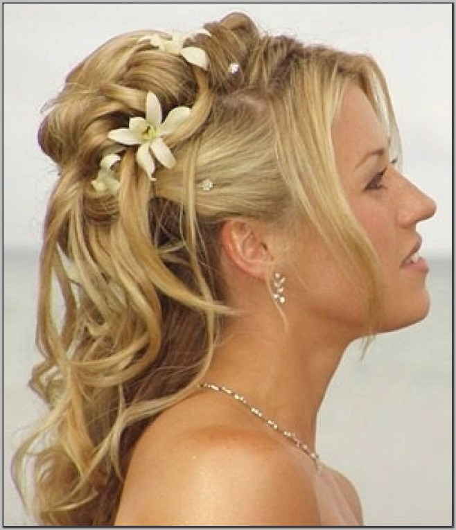 straight prom hairstyles