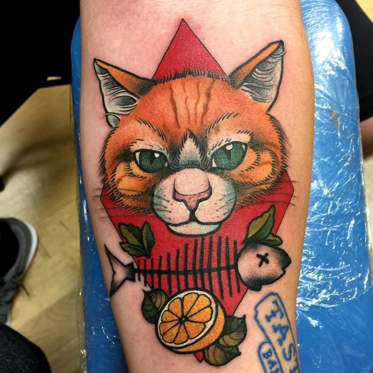 Best Cat Tattoo Design