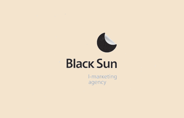 Sun Logo Design for Marketing Agency