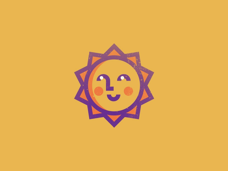 Smiling Sun Logo Design