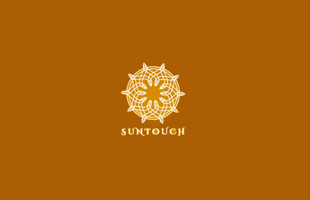 Floral Sun Logo Design