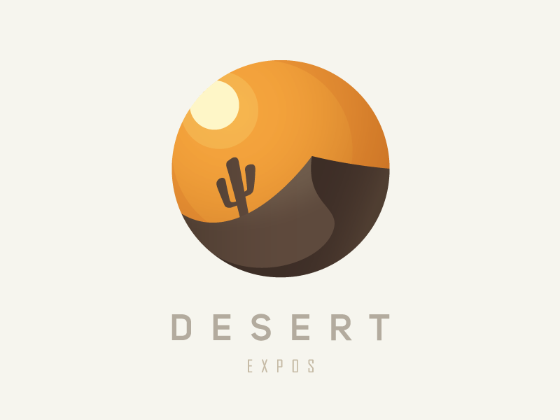 sun and dessert logo design