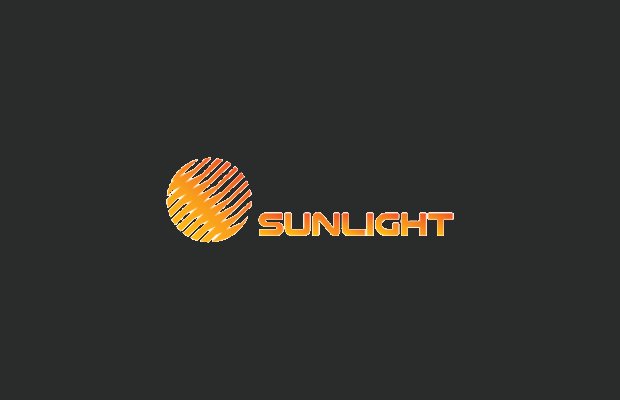 sunlight logo design