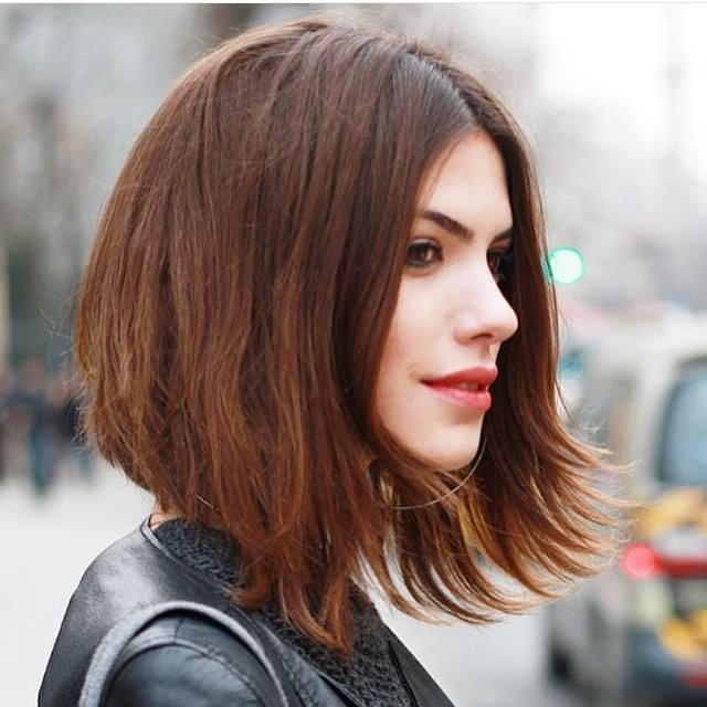 in fashion cool medium bob hairstyle