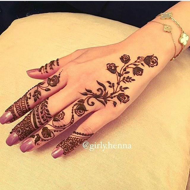 43+ Henna Designs, Ideas | Design Trends