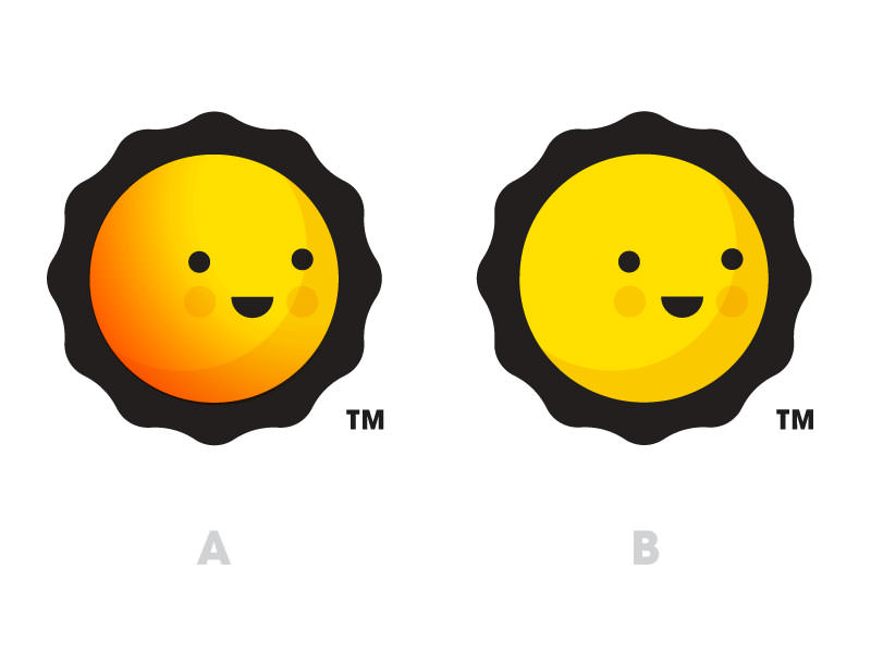 Cute Sun Logo Design