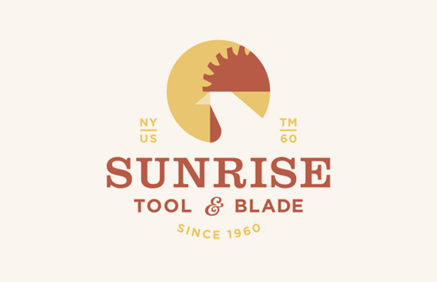 industrial sun logo design1