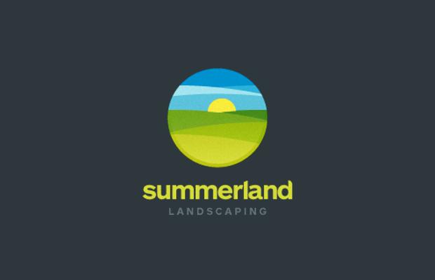 Circular Sun Logo Design