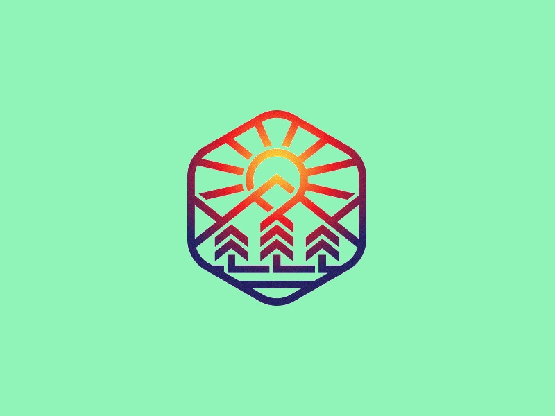 Creative Sun Logo Illustration