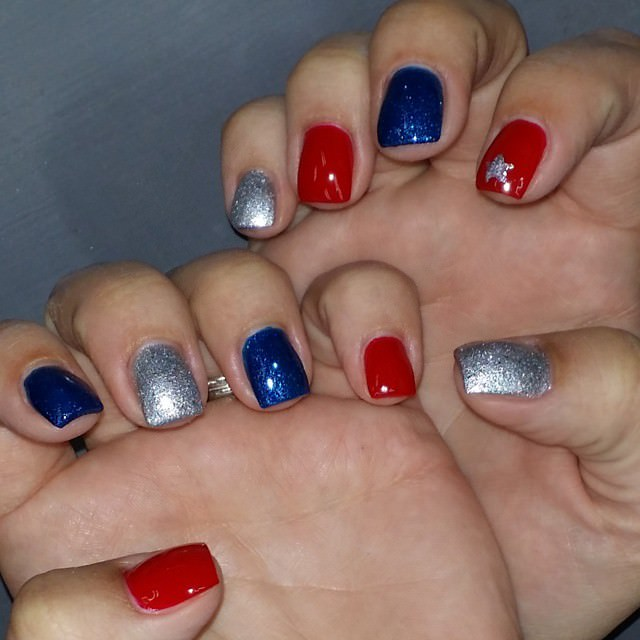 Different Colors Nail Designs on Nails