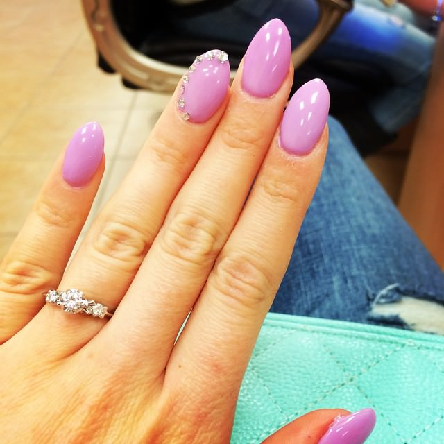 Beautiful Pointy Nail Designs