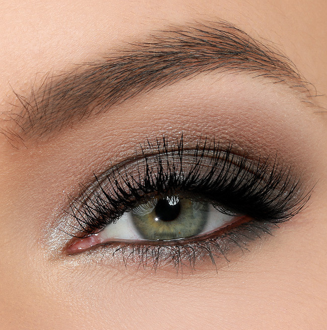 grayish brown eye shadow