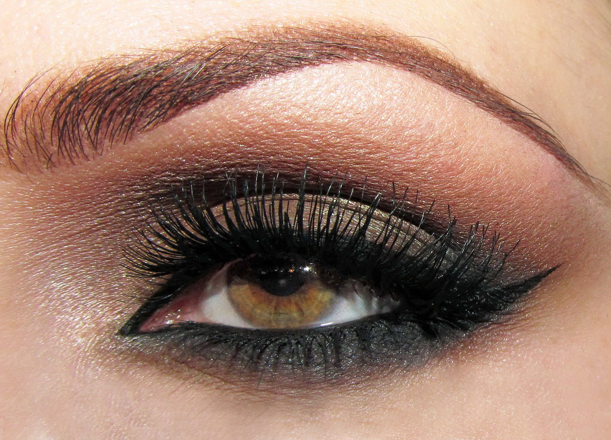 perfect 1min smokey eye