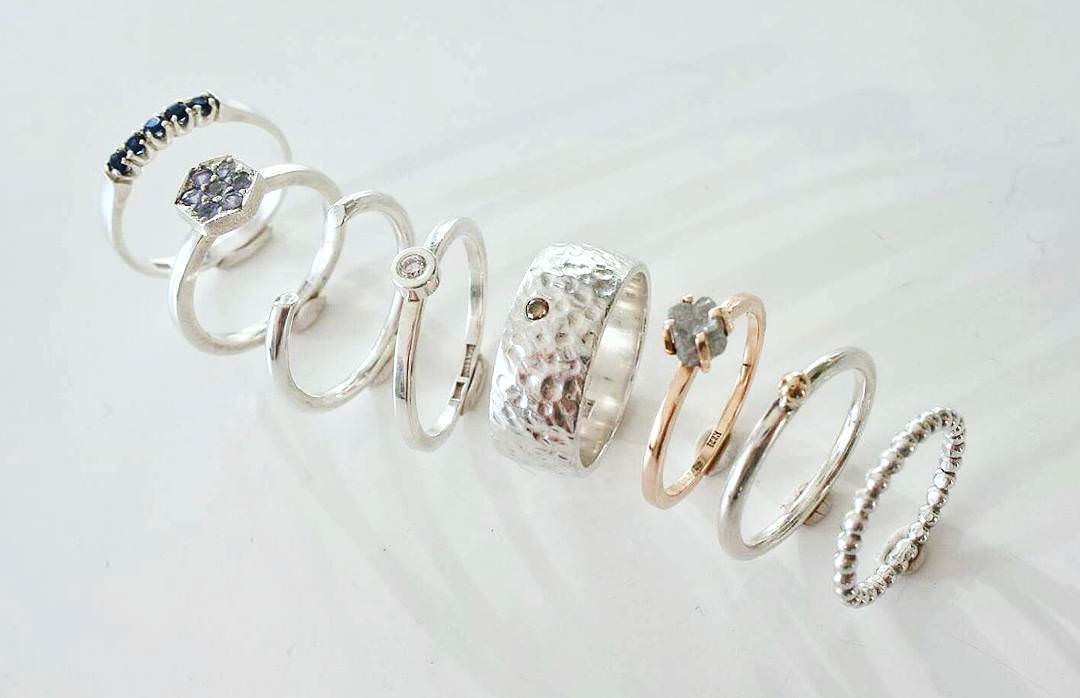 Awesome Collection of Raw Diamond Rings