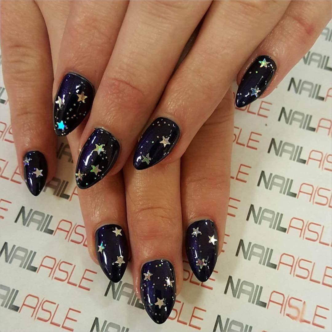 stars 3 d nail designs