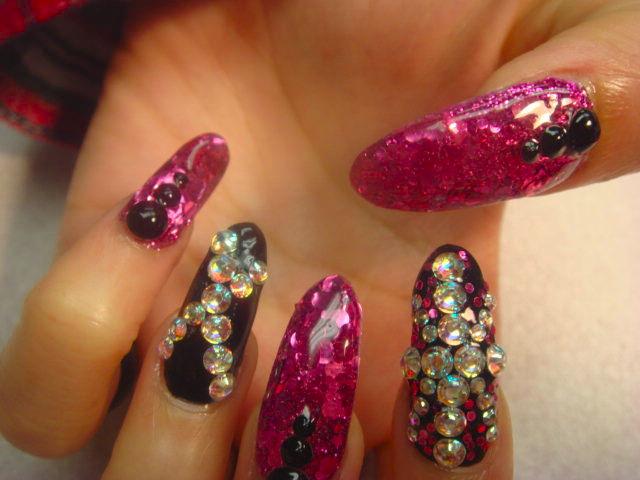 nice 3 d nail designs