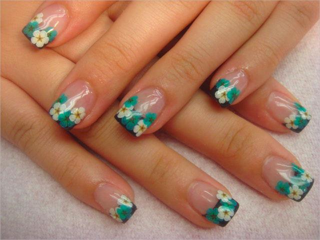 Simple 3 D Nail Designs
