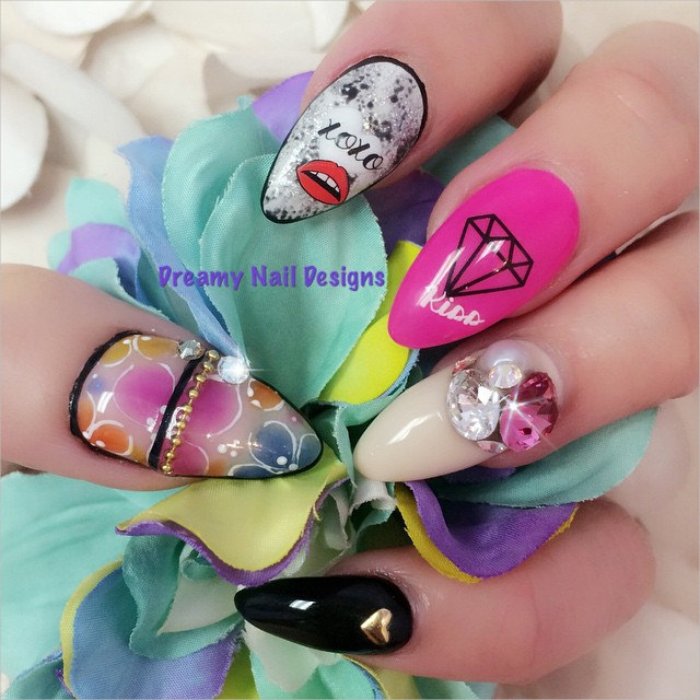 amazing 3 d nail designs