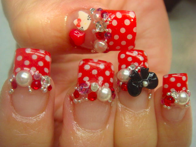 best 3 d nail designs