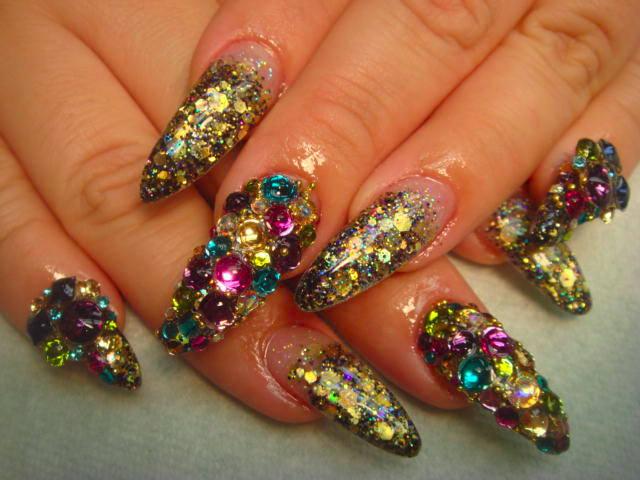 3 d nail designs