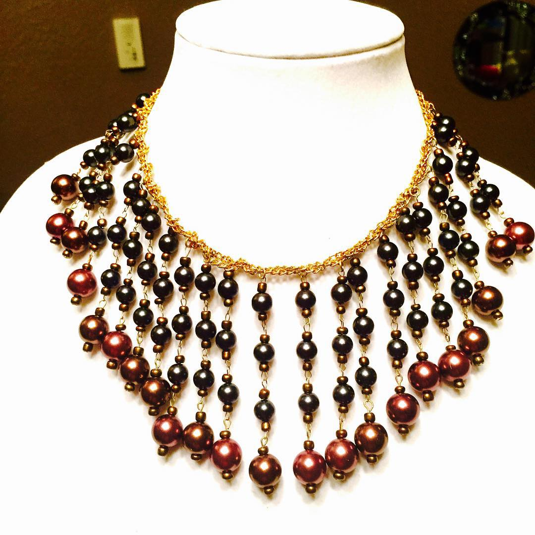 Beautiful Red Beads Necklace