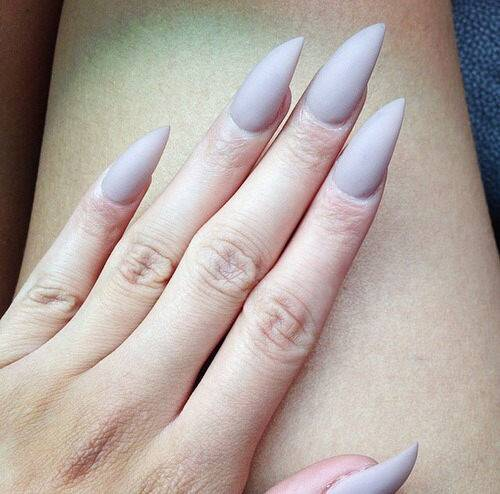 too sharp pointing nails