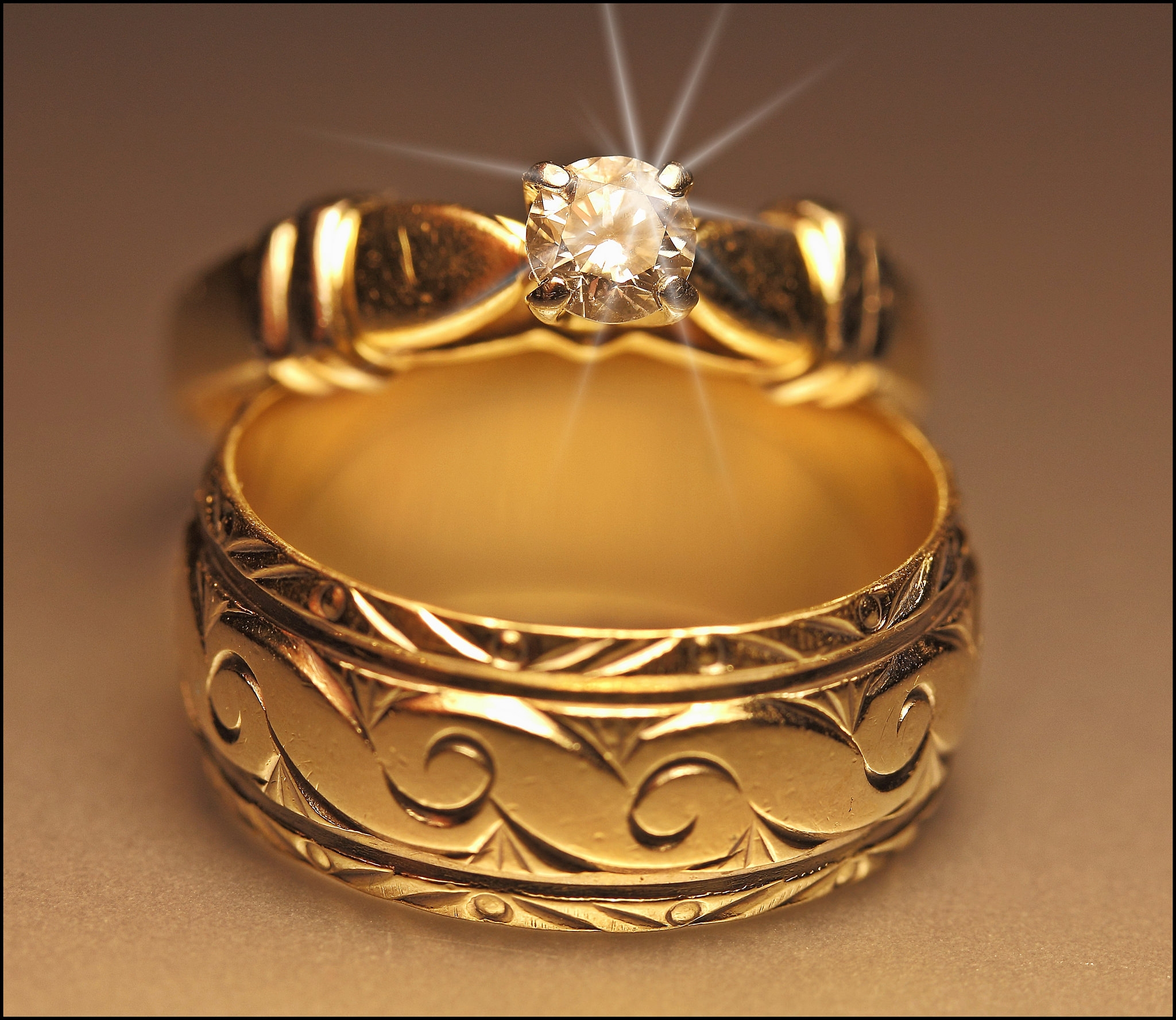 Amazing Design for Gold Ring
