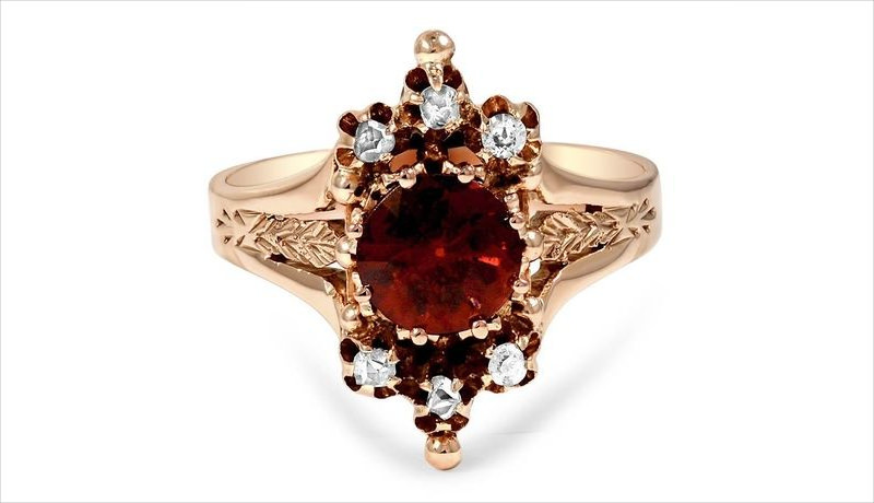 victorians brown ring