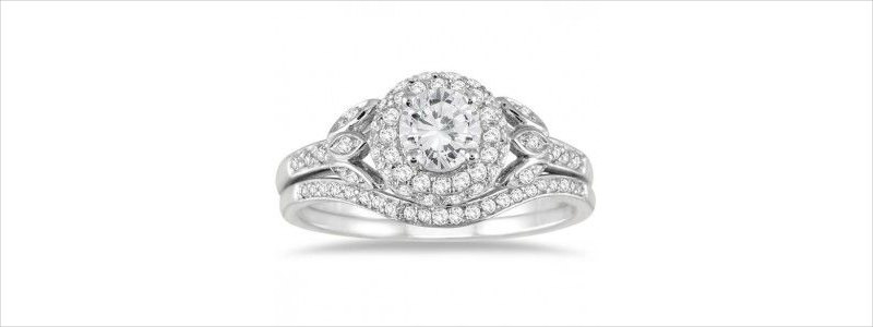 matching band diamond ring