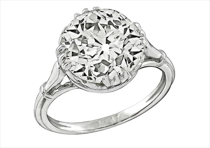 diamond highlighted ring