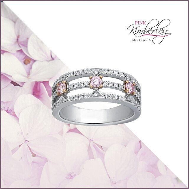 7 Argyle Pink Diamond Engagement Ring