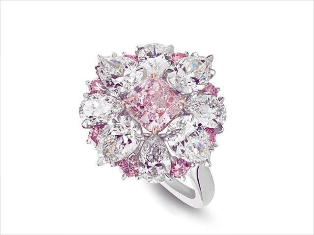 24 Pink Diamond Engagement Ring Designs Models Trends