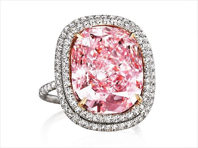 16ct Pink Diamond Engagement Ring