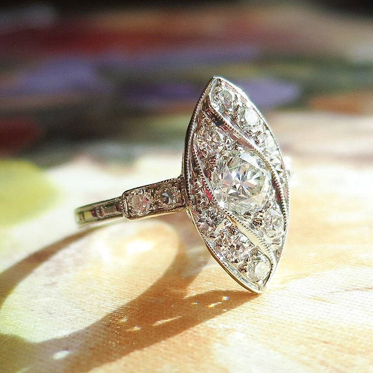 24 Vintage Engagement Ring Designs Trends Models