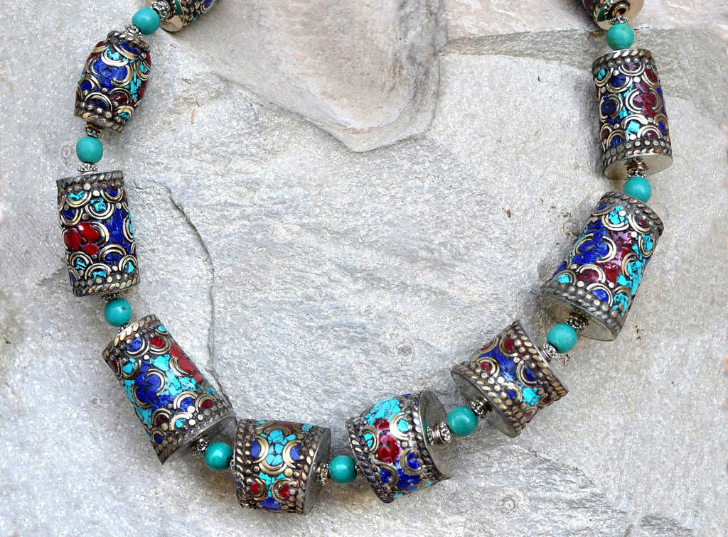 Traditional Nepali Necklace Tribal Jewelry