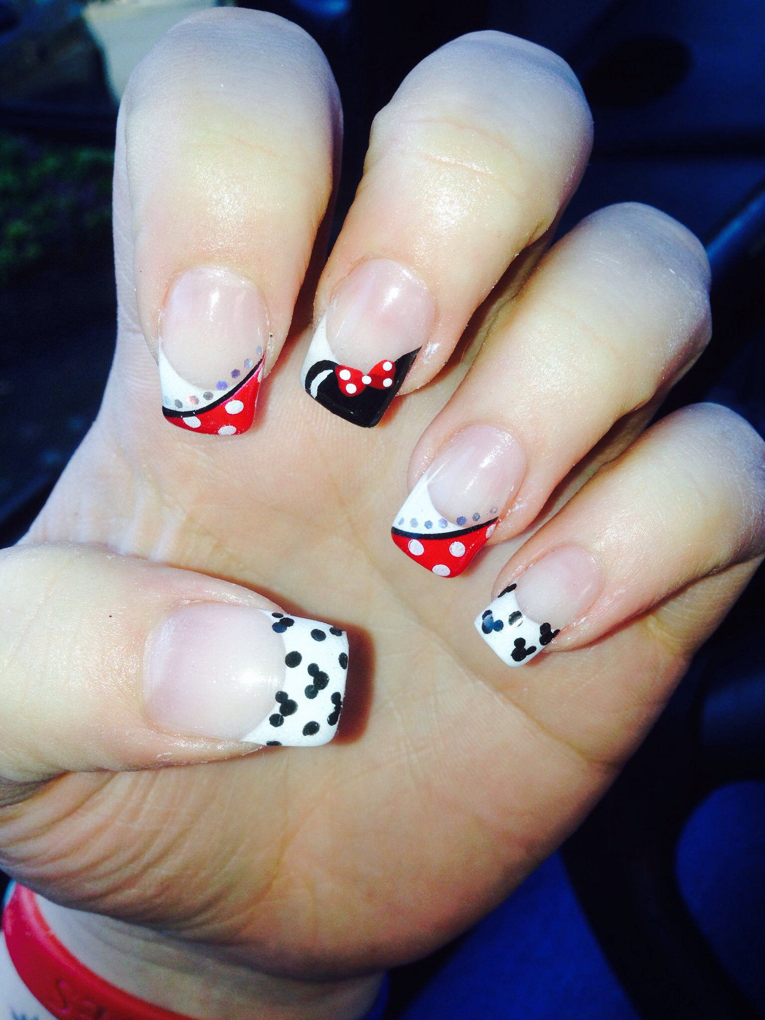 Disney Nail Art Minnie Mouse - 26+ Disney Nail Art Designs, Ideas Design Trends - Premium PSD