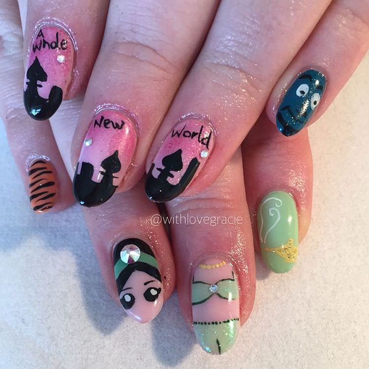 Disney World on Nails