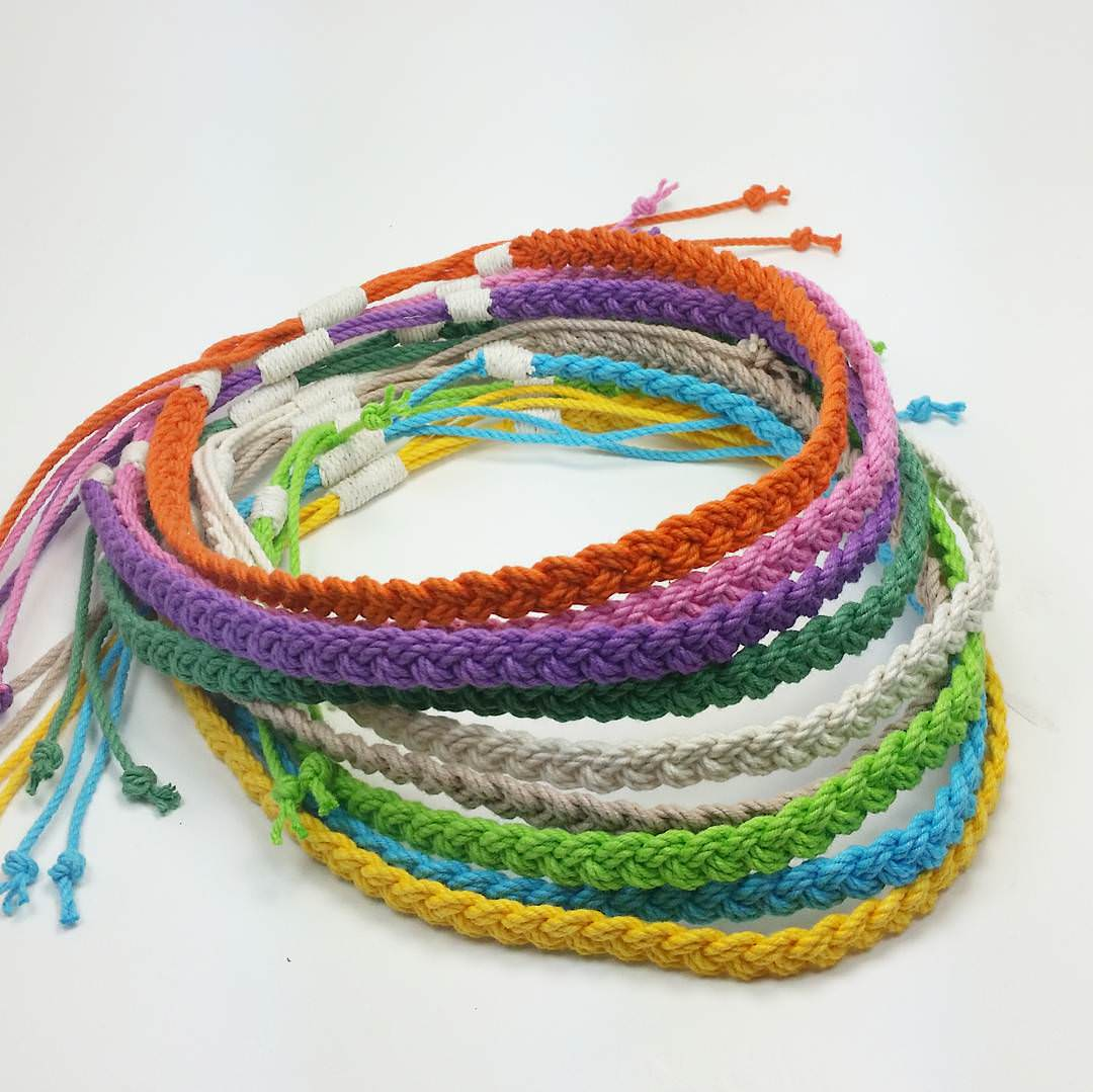 Cool Woven Tropical Necklaces