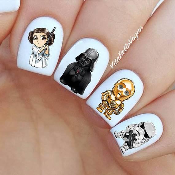 star war nails