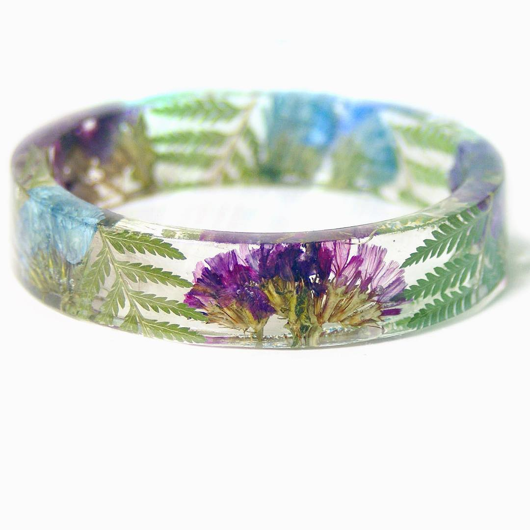Solid Spring Flower Tropical Bracelet