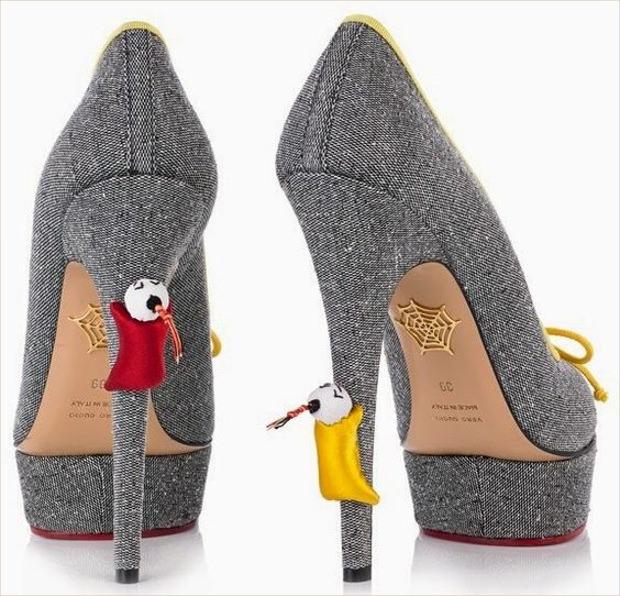 Ash Color High Heels for Kids