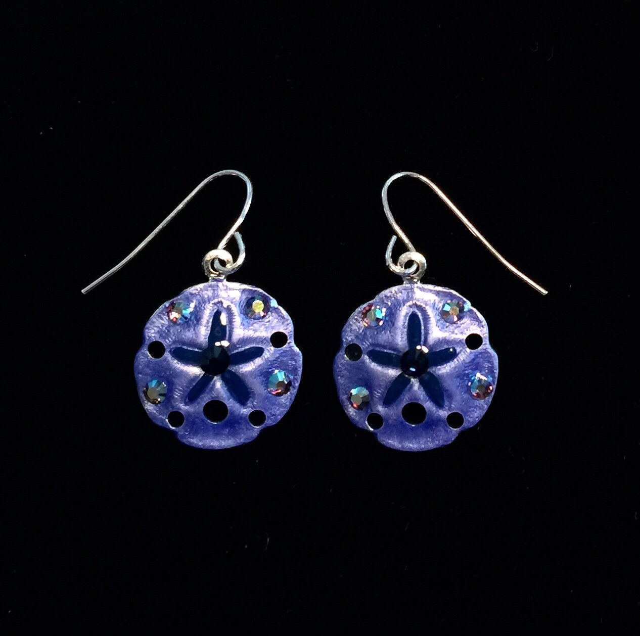 Amazing Tropical Sand Dollar Earrings
