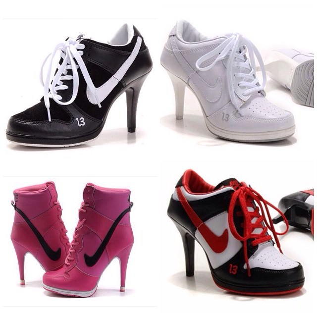 Collection Of Nike High Heels